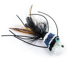 Deer Hair Bassbug Black and Blue