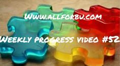All For Bu: Weekly Progress Video #52…autism, video, progress videos
