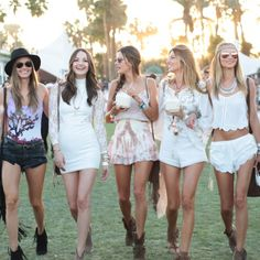 Summer Outfit Inspiration, Straight From Indio   The Zoe Report