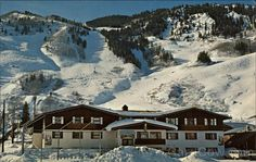 """In unsurpassed ski country, lie the sloves of Aspen Colorado.  Right at the base, in the midst of after-ski activity is the Mountain Chalet Ski Lodge."" Phone number is still the same! Except for that area code..."