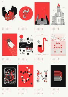upstruct calendar 2013