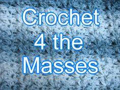 Welcome all new members. If you have questions or just want to share, come on over to my Group on facebook called Crochet 4 the Masses. Great group of ladies with different level skills, from crocheting for a few days to 42 years! Come and share and never be afraid to ask questions, if your looking for a pattern, more than likely they can find it for you! We made it to over 1200 members so far! Thanks to all of you!