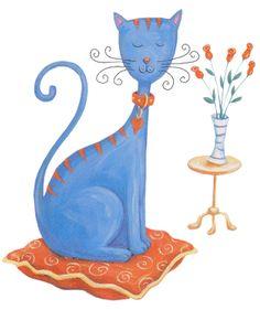 Cat/'s meow gatos Boxed sustancias patchwork animales patchwork sustancias algodón niños