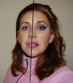Aisha mas que un -arte: Maquillaje Media Cara