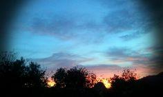 Sierra de San Vicente (Toledo) - Photo Fantasy. Cielo multicolor...