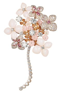 High Jewellery Chaumet | Chaumet Hortensia brooch