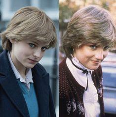 Netflix Series, Tv Series, The Crown Season, British Family, Princesa Diana, New Haircuts, Lady Diana, Preppy, Tv Shows