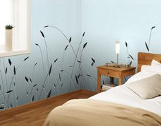 Modern Wallpaper Patterns and Colors, Interior Design in Eco Style