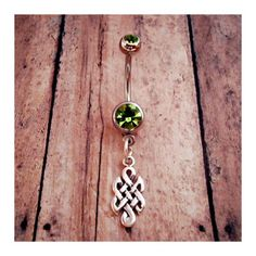 Jewelry Celtic Knot Body Jewelry Sterling Silver by BeltaneMoon, $20.00