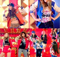 "Hip Hop Clothes for Girls | SNSD's fashion styles in the music video of ""I Got a Boy ..."