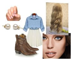 """""""(^-^)"""" by gleekyfangirl ❤ liked on Polyvore featuring Mexicana and Maybelline"""