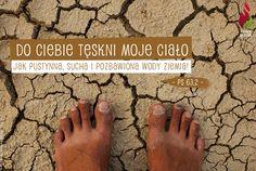 Do Ciebie tęskni moje ciało jak pustynna, sucha i pozbawiona wody ziemia! - Ps 63,2 -