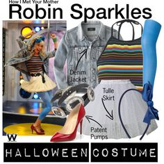 Inspired by Cobie Smulders as Robin Sparkles on How I Met Your Mother.