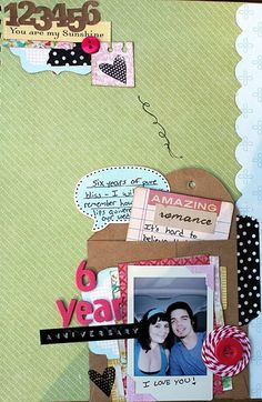 LOVE, LOVE, LOVE the button with wrapped twine! I think that might be a regular in our journal/smashbook- what an easy embellishment!
