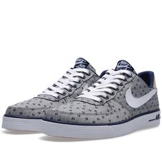 Nike Air Force 1 AC PRM QS 'Navy Pack' Midnight Navy, White & Sand