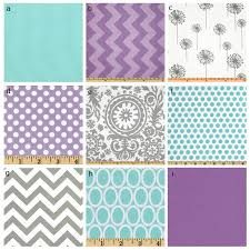 purple and teal crib bedding - Google Search