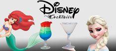 Des cocktails à l'image des personnages Disney ! Une idée originale pour vos soirées à thème !