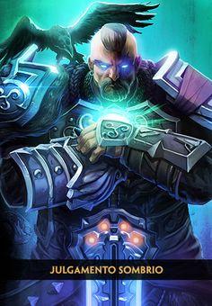 Tyr - O Arauto da Lei - Deuses - SMITE - MOBA em terceira pessoa   Level Up!