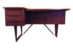 Peter Lovig rosewood desk. $5300