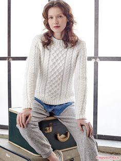 свитерок с косами