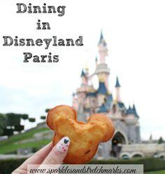 Dining In Disneyland Paris