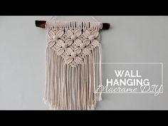 Macrame Plant Hanger Patterns, Macrame Patterns, Flower Patterns, Macrame Owl, Macrame Design, Macrame Tutorial, Diy And Crafts, Creations, Weaving
