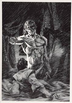 "theremina:  Bernie Wrightson Illustrations of Mary Shelley's ""Frankenstein"""