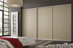 Fitted Wardrobes, Sliding Wardrobe, Grey Stone, Classic Collection, Sliding Doors, Brown And Grey, Ash, Bedrooms, Colours