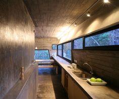 Amazing Concrete Kitchen