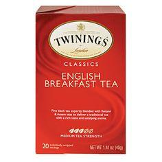 Twinings® Of London English Breakfast Tea, 20-Pack at #BigLots.#BigLots Christmas Like Crazy Sweepstakes