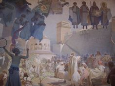 Výsledok vyhľadávania obrázkov pre dopyt slovanská epopej alfons mucha Painting, Art, Art Background, Painting Art, Kunst, Paintings, Performing Arts, Painted Canvas, Drawings