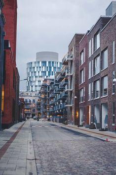 Modern architecture in Nordhavn, Copenhagen. Visit Denmark, Denmark Travel, Amazing Architecture, Modern Architecture, Stuff To Do, Things To Do, Copenhagen Travel, Danish Modern, Castle