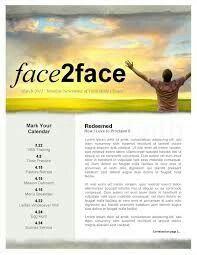 church newsletter template