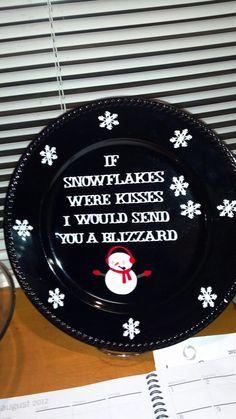 love the saying! maybe make glittery hand print snow flake!