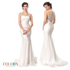 Diamond Back. COLORS DRESS Style 1012 #crystals #sexy #fashion #style #gown #evening #formal