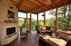 Amazing Screened in porch