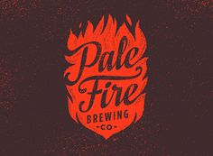 Pale Fire Logo by Emrich Office