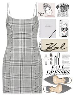 """""""Untitled #4590"""" by licethfashion ❤ liked on Polyvore featuring Alexander Wang, Karl Lagerfeld, CLUSE, Casetify and Bobbi Brown Cosmetics"""