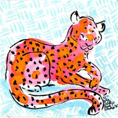 "Lilly Pulitzer on Instagram: ""On the prowl #lilly5x5"""