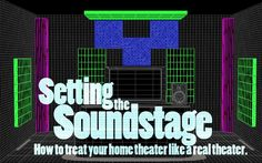 Article: Setting the Soundstage  How to treat your home theater like a  real theater   Acoustics First Acoustical Panels & Soundproofing Materials to  Control Sound and Eliminate Noise™