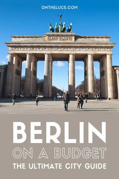 How to save money on sightseeing, museums and galleries, food and drink, city views and transport – showing you can see Berlin on a budget.