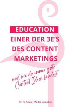 In diesem Beitrag findest du heraus, auf was du bei der Content  Erstellung achten solltest und wie diese Tipps dir bei deinem Marketing  helfen können! Workshop, Im Online, Content Marketing, Entrepreneurship, Online Business, German, Social Media, How To Get, Female