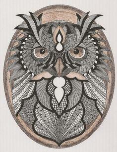 Adri: 044-Owl Portrait