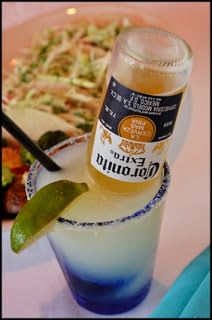 Corona-Ritas ~ In a pitcher, combine equal parts (use the limeade can to measure): Frozen limeade concentrate water Sprite tequila add one Corona