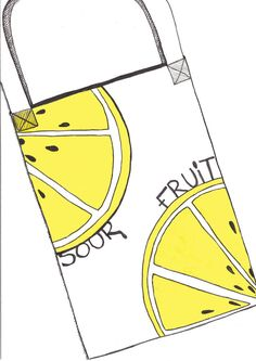 A slice of lemon print design for a canvas bag. Yellow and white colours with black pips, illustrated in watercolour and ink. Created for the book launch of Sour Fruit a debut novel by Eli Allison. Sour Fruit, Say Her Name, Grace Jones, Lemon Print, Book Launch, Successful Women, Watercolor And Ink, The Book, Print Design