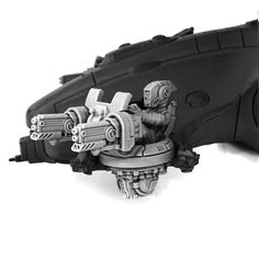 Two HQ resin models.Each pack contain 4 heads: two with helmets and two without. Also there such guns as missile launchers, burst cannons and blasters.These miniatures are supplied unpainted and require assembly.