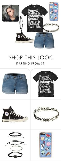 Untitled #76 by tais-943 on Polyvore featuring LE3NO, Converse and Zero Gravity