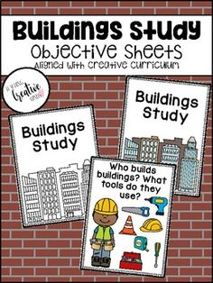 Pre K Activities, Kindergarten Activities, Classroom Activities, Preschool Classroom, Creative Curriculum Preschool, Preschool Rooms, Construction Theme Preschool, Construction Area, Preschool Block Area
