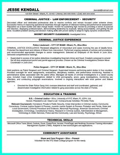 Criminal Justice Resume criminal justice resume sample law resumecompanioncom Criminal Justice Resume Uses Summary Section Of The Qualifications To Highlight Your Experience From The Previous
