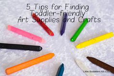 Tips for finding toddler-friendly art    ~Little Scribblers Art Club~
